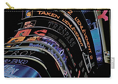 Carry-all Pouch featuring the photograph Movie Madness by Pennie  McCracken