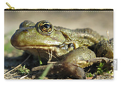 Carry-all Pouch featuring the photograph Mr. Charming Eyes. Side View by Ausra Huntington nee Paulauskaite