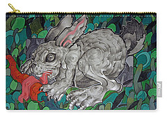 Mr Greedy Bunny Carry-all Pouch