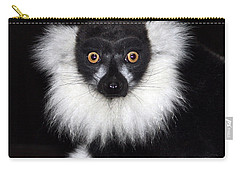 Carry-all Pouch featuring the photograph Mr Lemur by Terri Waters