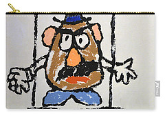Carry-all Pouch featuring the photograph Mr. Potato Head Gone Bad by Robert Meanor