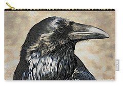 Mr. Raven Carry-all Pouch