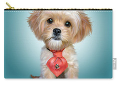 Mr. Toby Waffles The Cavapoo Carry-all Pouch