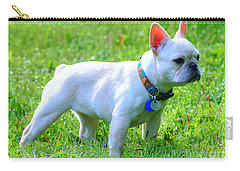 Ms. Quiggly - French Bulldog Carry-all Pouch