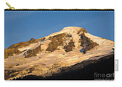 Carry-all Pouch featuring the photograph Mt.baker At Sunset  by Yulia Kazansky