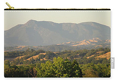 Carry-all Pouch featuring the photograph Mt. Cali by Shawn Marlow