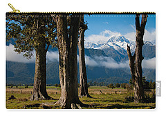 Mt Cook Through Trees Carry-all Pouch