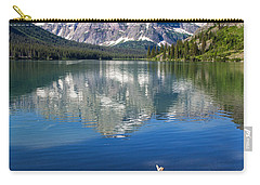 Mt Gould Reflections Carry-all Pouch by Jack Bell