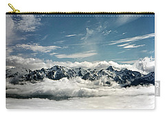 Carry-all Pouch featuring the photograph Mt Olympus by Greg Reed