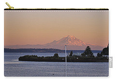 Mt. Rainier Afterglow Carry-all Pouch