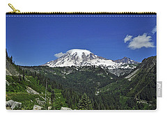 Mt Rainier Between The Valley Carry-all Pouch