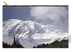Carry-all Pouch featuring the photograph Mt Rainier  by Greg Reed
