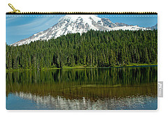 Carry-all Pouch featuring the photograph Mt. Rainier II by Tikvah's Hope