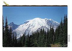 Mt. Rainier In August Carry-all Pouch by Chalet Roome-Rigdon
