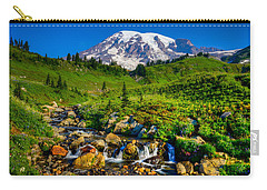 Mt. Rainier Stream Carry-all Pouch