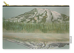 Mt Rainier Carry-all Pouch by Terry Frederick