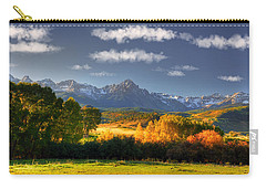 Mt Sneffels And The Dallas Divide Carry-all Pouch