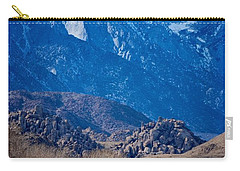 Mt. Whitney And Alabama Hills Carry-all Pouch