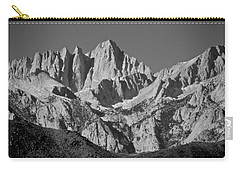 Mt. Whitney In Black And White Carry-all Pouch