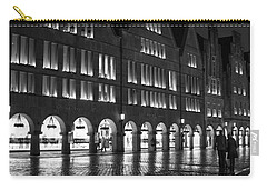 Cobblestone Night Walk In The Town Carry-all Pouch
