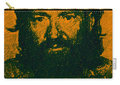 Mugshot Willie Nelson P0 Carry-all Pouch