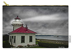 Mukilteo Lighthouse Carry-all Pouch by Charlie Duncan
