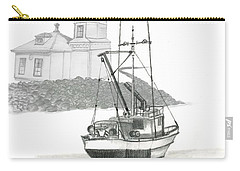 Mukilteo Lighthouse Carry-all Pouch by Terry Frederick