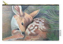 Mule Deer Fawn Carry-all Pouch