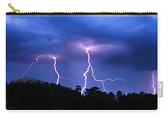 Multi Arc Lightning Strike Carry-all Pouch