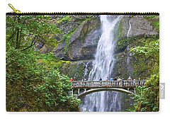 Multnomah Falls 4 Carry-all Pouch