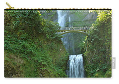 Multnomah Falls Carry-all Pouch by Christiane Schulze Art And Photography