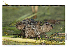 Carry-all Pouch featuring the photograph Munchkins by James Peterson
