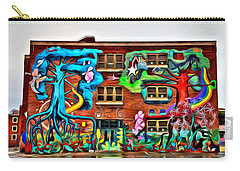 Mural On School Carry-all Pouch by Alice Gipson