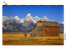 Carry-all Pouch featuring the photograph Murphy Barn by Greg Norrell