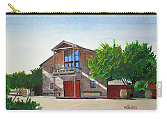 Murrietas Well Winery Carry-all Pouch by Mike Robles