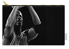Carry-all Pouch featuring the painting Muscle Memory by Brian Reaves