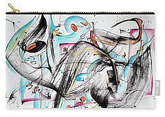 Music Carry-all Pouch by Asha Carolyn Young