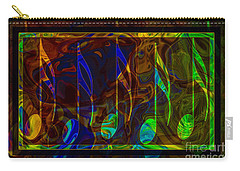 Music Is Magical Abstract Healing Art Carry-all Pouch