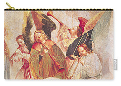 Musical Angels, Detail From The Assumption Of The Virgin Carry-all Pouch