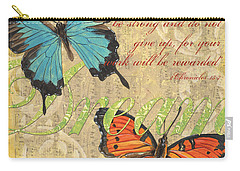 Wildlife Paintings Carry-All Pouches