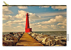 Muskegon South Pier Light Carry-all Pouch