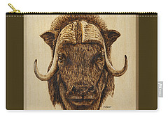 Muskox Carry-all Pouch by Ron Haist