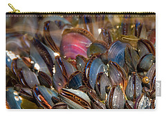Mussels Underwater Carry-all Pouch by Peggy Collins