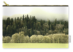 Carry-all Pouch featuring the photograph Muted Hillside Colors by Katie Wing Vigil