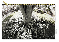 Carry-all Pouch featuring the photograph Muted Roots by Clayton Bruster