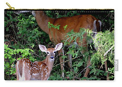 Carry-all Pouch featuring the photograph My Baby by Deena Stoddard