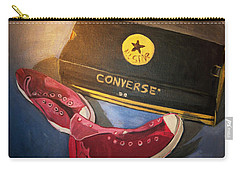 My Chucks - Pink Converse Chuck Taylor All Star - Still Life Painting - Ai P. Nilson Carry-all Pouch