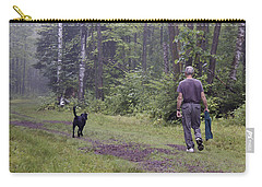 My Dog And I Carry-all Pouch by Susan Crossman Buscho
