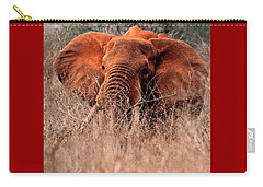 My Elephant In Africa Carry-all Pouch