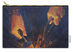 My Fathers Hands Carry-all Pouch by Rob Corsetti